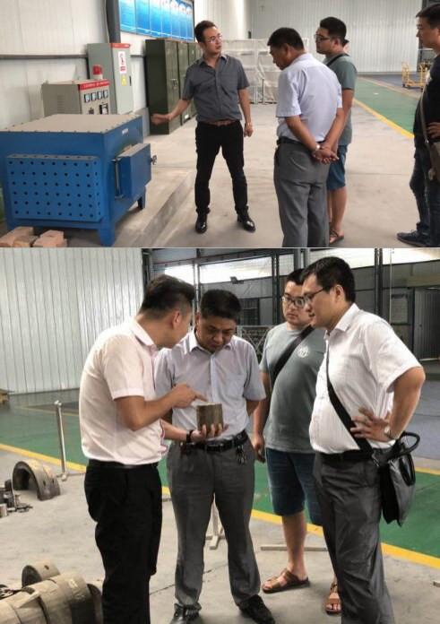 中国电子科技集团参观怡鑫公司